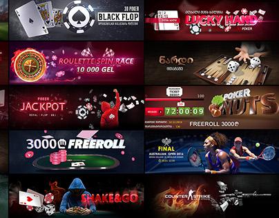 Casino Banners