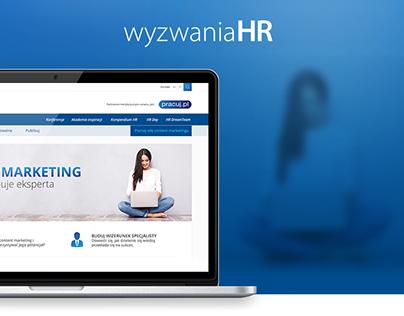 Wyzwania HR - web design
