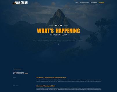 Concept Events Website