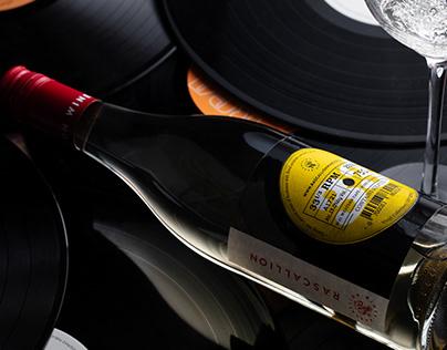 Rascallion | Vinyl Collection Wine Labels