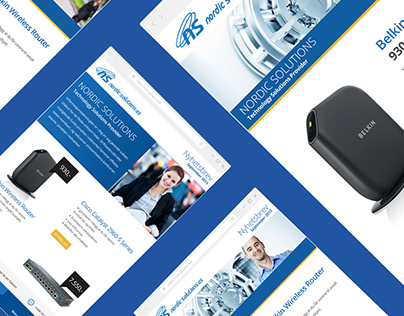 Email Newsletter Designs | Nordic Solutions