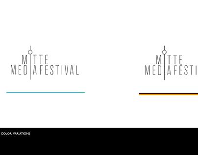 Logo Design for Mitte Media Festival, Dec 2016