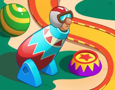 Circus Game Map