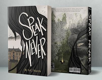 YA Book Jacket: Speak Never