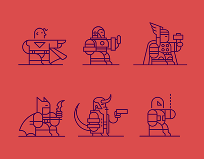 Super Heroes Icons