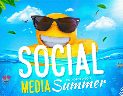social media end of summer