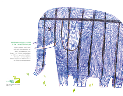 Ad campaign- Nehru zoological park