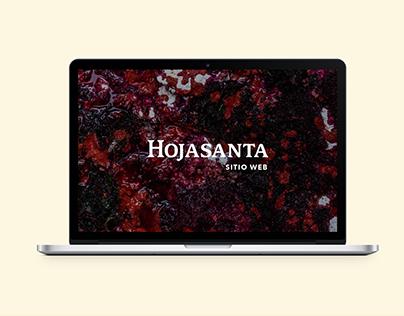 HojaSanta · Sitio web