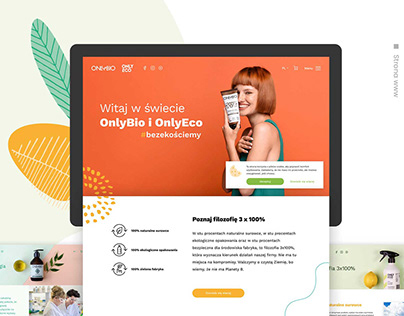 Only Bio - Identity & Website