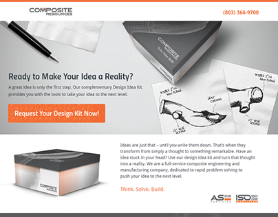 Composite Resources Email & Landing Page