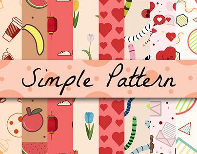 Set of Simple Pattern