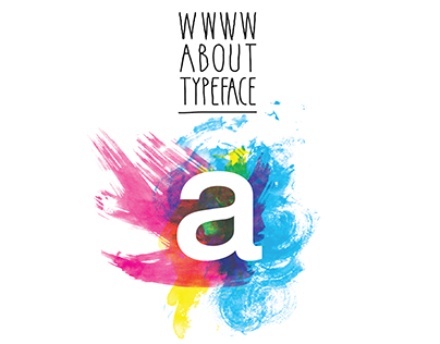 infographic // wwww about typeface