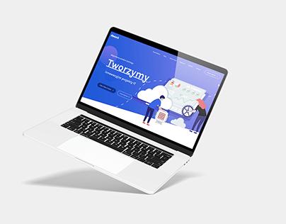 Strona internetowe dla Software Hause