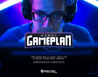 Redel - Plano para Gamers