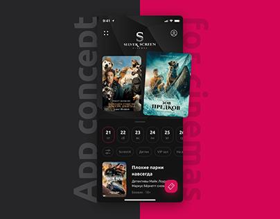 App concept for cinemas