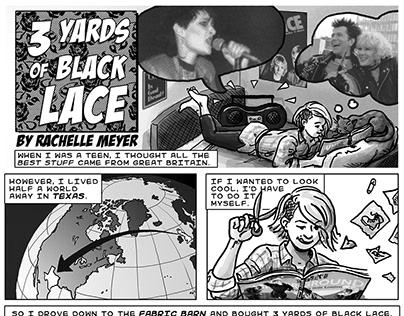 3 Yards of Black Lace A Transatlantic Teen Love Story