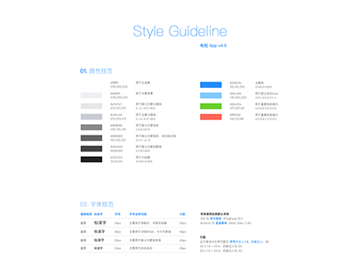 Style Guideline