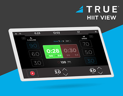 True Hiit View | UX/UI