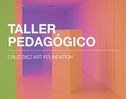 Bruchure Taller Pedagógico fundación Cruz Diez