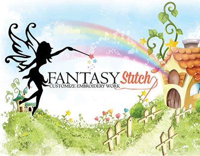 Fantasy Stitch Logo Design