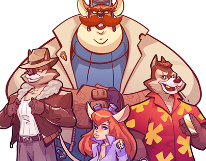 Rescue Rangers Gang (Fan art)