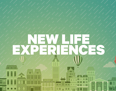 New life experience, commercial web campaign - Groupon