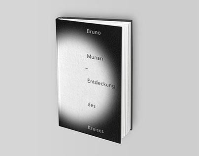"Bookcover — Bruno Munari ""Discovery of the circle"""
