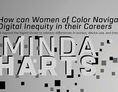 Minda Harts Talk Flyer