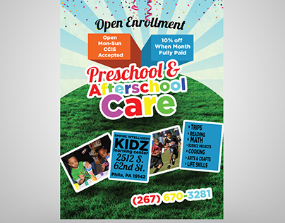 Preschool & Afterschool Care