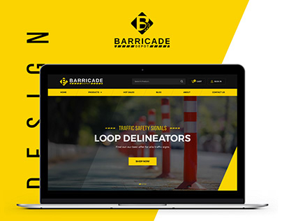 Barricade - Web design