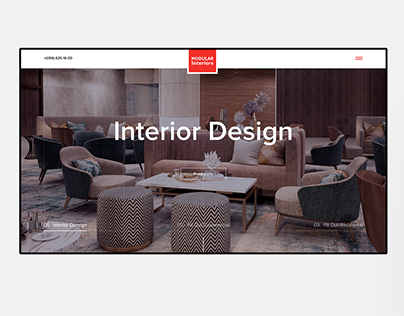Modular Interior - website