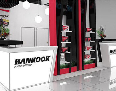 Design of the exhibition stand company TM Hankook