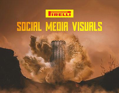 Pirelli Social Media Visuals