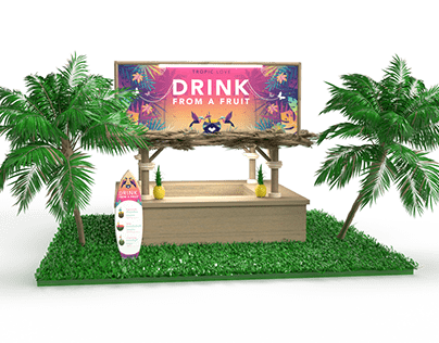 Tropic Love Booth Render