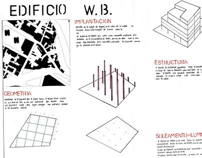 PROYECTO HABITAR/ 2012-01/ Edificio W.B