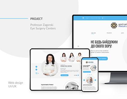 Eye Surgery Centers - website design