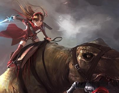 Carola - The Princess & the Dinosaur