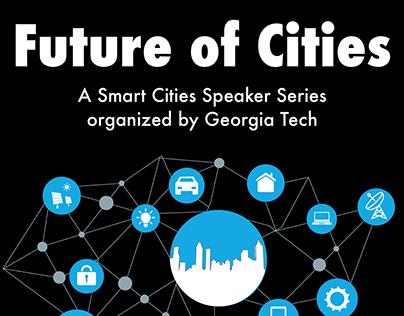 Smart Cities Speaker Series Poster