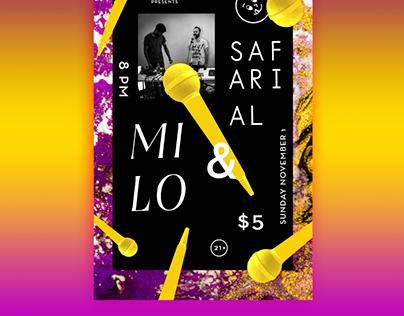 Milo Show Poster