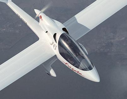 J6 Fregata - Touring Motor Glider | CGI