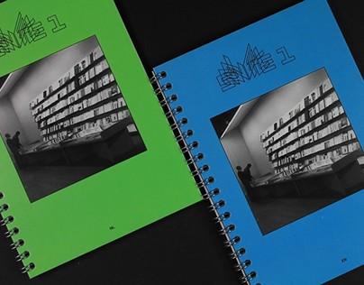 Sequence 1 — Artist's books exhibition publication