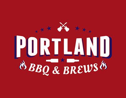 Portland BBQ & BREWS Logo