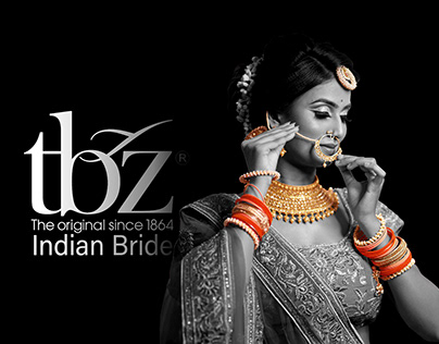 TBZ : ADVERTISING CAMPAIGN : INDIAN JEWELLRY BRIDAL