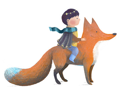 A BOY AND HIS FOX