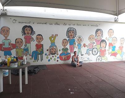 Mural APPACDM do Porto