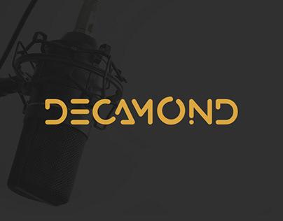 Decamond Studio logo design