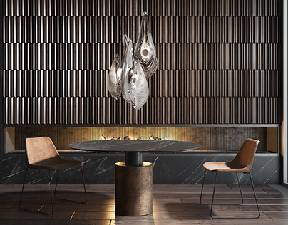 Wooden wall panels Pontelli