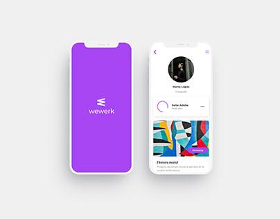WEWERK - App Colaborativa