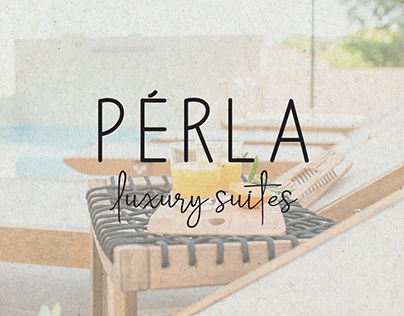 PERLA LUXURY SUITES | LOGOTYPE DESIGN | 2019