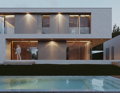 Private house - Exterior visualization